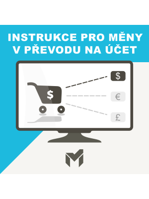 Instrukce pro měny v převodu na účet