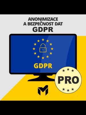 Anonymizace a bezpečnost dat GDPR PRO