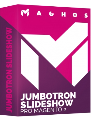 Jumbotron slideshow pro Magento 2